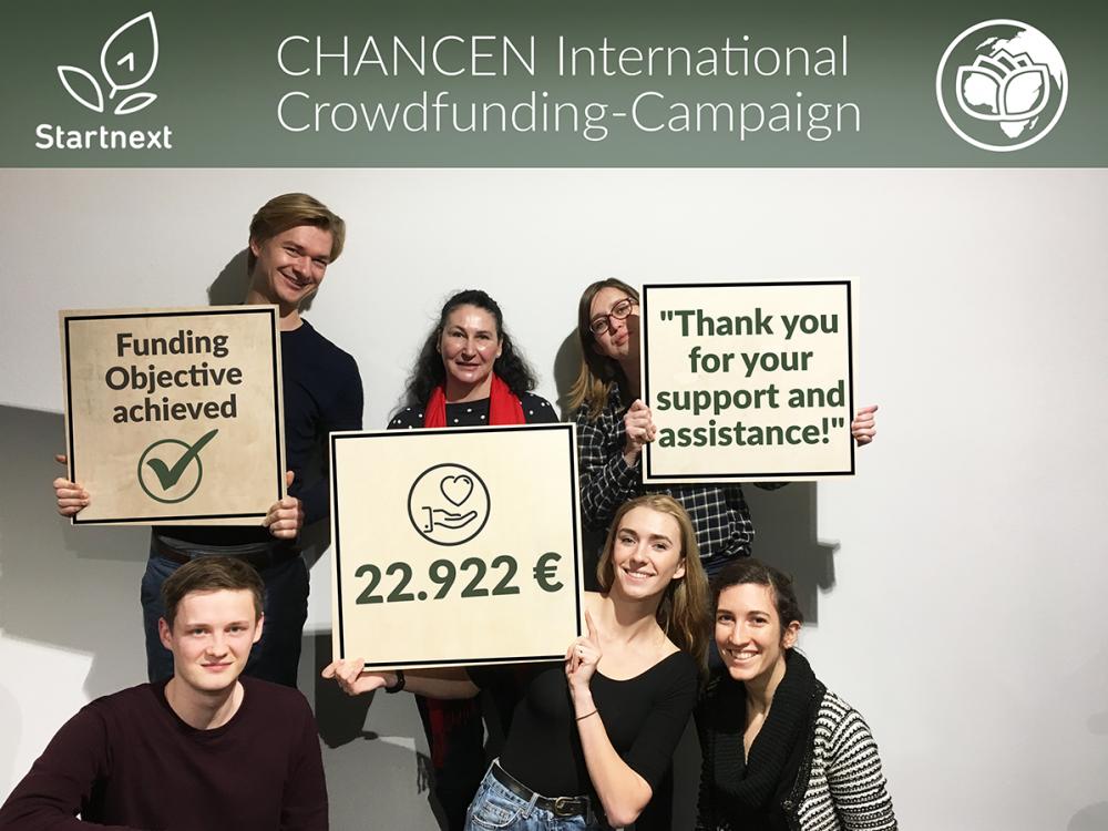 erfolgreiche Crowdfunding Kampagne