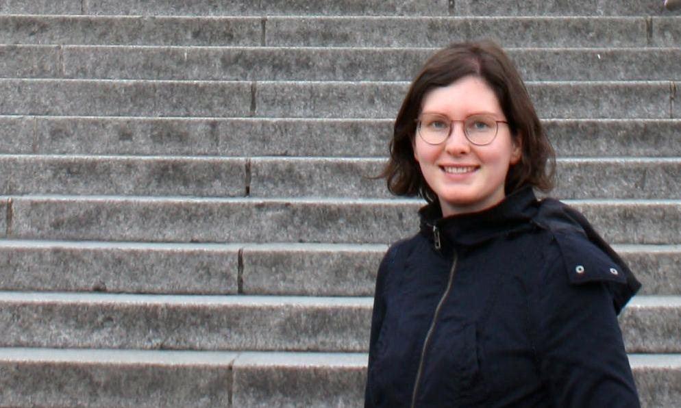 Absolventin Eva Jaumann