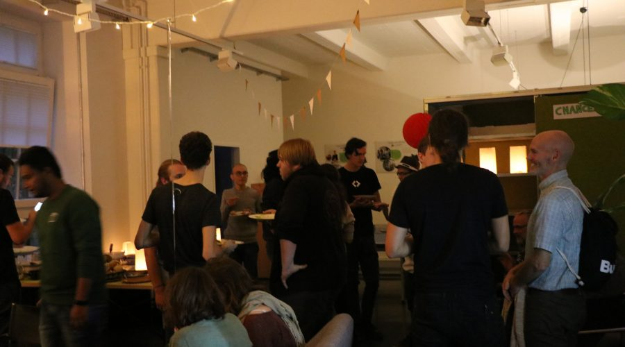 We redecorated our Berlin office space and created a beautiful party mood.